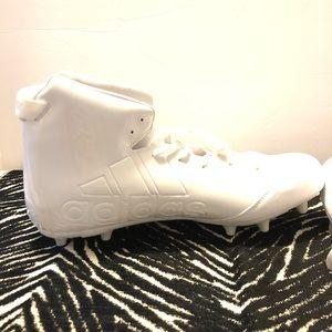 adidas Shoes - NWOT Adidas Freak Football White Cleats Size 18